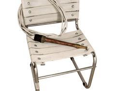 Upcycling fire hose chair by Obgetti