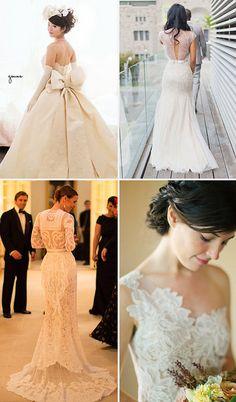 Wedding Gowns on Lovestruck, via Flickr