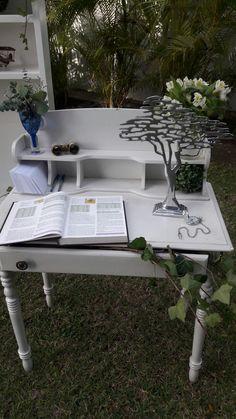 Desk, Table, Home Decor, Homemade Home Decor, Desktop, Writing Desk, Mesas, Office Desk, Offices