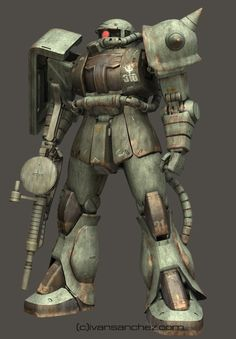 mobile suit gundam zaku II F2 ver 2 gouf custom J 3d mesh cg sandrum bonds of the battlefield senjo no kizuna