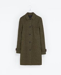 PRINTED COTTON TRENCH COAT - Coats - Woman - New collection | ZARA United Kingdom