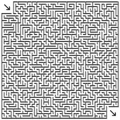 picture regarding Difficult Mazes Printable titled 201 Perfect Mazes pictures within 2019 Pursuits, Coloring guides