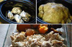 Crockpot Rotisserie Chicken  #LifeMadeFull