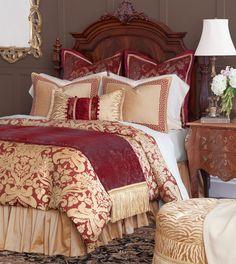 Simple Bedroom Design, Bed Linen Design, Modern Luxury Bedroom, Luxurious Bedrooms, Modern Bedding, Romantic Bedrooms, Bedding Sets Online, Luxury Bedding Sets, Comforter Sets