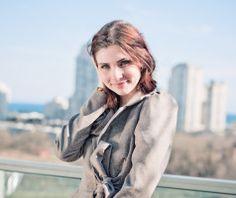 Ana Caracaleanu: Co-founder of Luevo Co Founder, Raincoat, Winter Jackets, Fashion, Rain Jacket, Winter Coats, Moda, Winter Vest Outfits, Fashion Styles