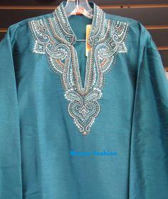Blue Panjama Kurta