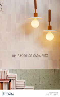 Home Office, Portobello, Mix, Sweet Home, Lettering, Natural, Home Decor, Ribbon Wall, White Brick Walls