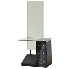 Art Déco dressing table   From a unique collection of antique and modern dressers at https://www.1stdibs.com/furniture/storage-case-pieces/dressers/