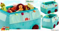Bus de rangement Jef - Coffre à jouets Lilliputiens