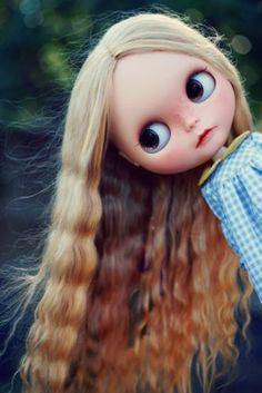 OOAK Custom Blythe Doll with Alpaca Reroot by Natdoublet | eBay
