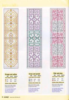 Points de croix *@* Marque pages