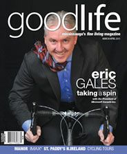 GoodLife Mississauga March/April 2011  Microsoft Canada President Eric Gales