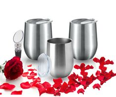 ❤❤‼PERFECT VALENTINE'S DAY GIFT- AVAILABLE HERE‼❤❤ Are you still planning or looking for a perfect Valentine's gift? Why not try our Stemless Wine Glass Stainless Steel Insulated Tumbler to customized. 🎁PERFECT gift for any occasion. Made by Loved will really be appreciated by your loved ones- DIY TUMBLERS. 👍DIY epoxy Tumblers 👍Engraved names 👍Glitters  ☑️Great price for a valentine's day gift! GET 10% with COUPON and FREE SHIPPING!! Diy Tumblers, Tumblers With Lids, Insulated Tumblers, Valentine Day Gifts, Valentines, Diy Epoxy, Glitters, Wine Glass, Coupon