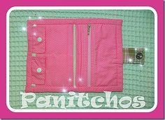 Capa para caderneta de vacinação personalizada em tecido  PANITCHOS - Ideias em tecido