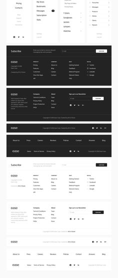Ease UI Components on Behance