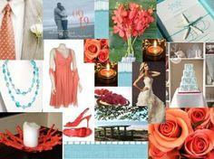 Coral & Aqua | Weddings, Planning | Wedding Forums | WeddingWire