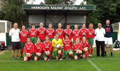 Harrogate Railway Ladies finally got to play Silsden at the weekend in the league cup semi final and came away winners with a 1-7 score line
