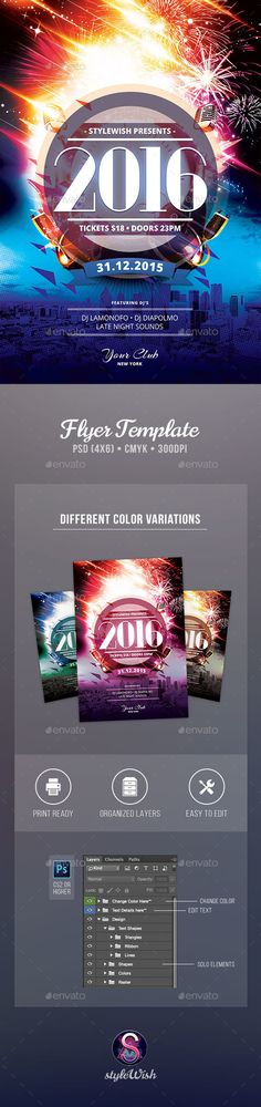 100 best new year party flyer templates images party flyer flyer