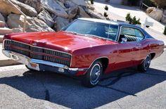 429/4-Speed 1969 Ford Galaxie XL