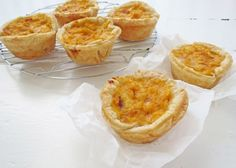 Mini Pumpkin Quiches Mini Quiches, Mini Pies, Pumpkin Quiche, Pumpkin Soup, Steak And Mushroom Pie, Lamb Pie, Mini Pastries, Pinwheel Recipes, Quiche Recipes