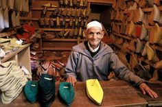 Al Bolgha -a shoe from Morocco
