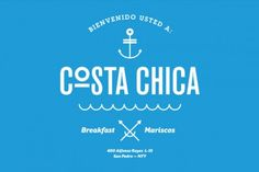 The goal for Savvy Studio in creating the brand for seafood restaurant Costa Chica was to keep the design as simple as the food with a focus on presenting imagery in branding that relates to the freshness with which Costa Chica approaches serving seafood. Using a handful of simple images, Savvy Studio gave Costa Chica an easily-understood meaning centered around the sea and making it readily available to anyone that sits down for a meal at Costa Chica.