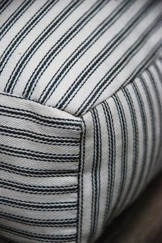 Ticking—its name deriving from the Greek word theka,meaning case or covering—has been synonymous with mattresses since fabric was first paired with straw.