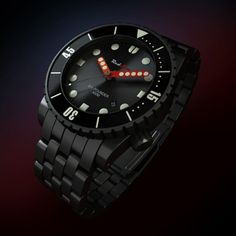 """RedSea [USA] """"SIX POUNDER"""" Automatic Diver's Watch 44mm Black PVD Case BNIB - FREE INSURED SHIPPING WORLDWIDE - £475"""