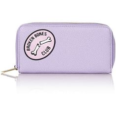 TOPSHOP **Broken Bones Purse by Skinnydip (560 UYU) ❤ liked on Polyvore featuring bags, handbags, fillers, purses, clutches, fillers - objects, lilac, handbags bags, topshop purses and purple plastic purse