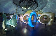 Check Out Battery Park's Cool New SeaGlass Carousel — Design News | Apartment Therapy