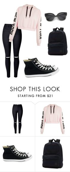 """Annie Style"" by amy-style123 on Polyvore featuring Converse and Vans"