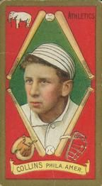 1911 T205 Gold Border #37 Eddie Collins Front