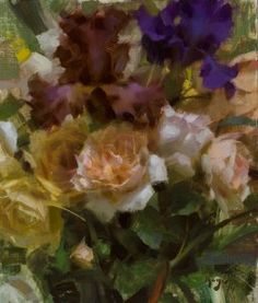 Roses and Iris (1 of 1)