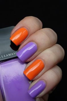 Illamasqua Nail Polish (Not the colors pictured - they have so many other *pretty* options) $13.00 a bottle, which is pricey for nail polish. BUT WORTH IT! One coat and you're done. No base coat, no second coat of color, and no top coat. It dries fast, has a great shiny finish, and doesn't chip - ever! I wear this on my toes and it doesn't come off at all.
