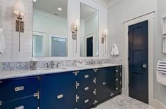 Image result for gray and blue bathroom