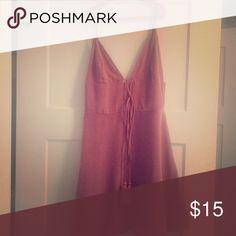 Pink sleeveless dress (Luxe boutique) Cute, Summer dress Dresses Mini