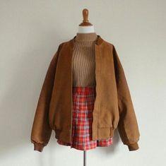 Clothing ideas for korean fashion trends 713 70s Fashion, Look Fashion, Korean Fashion, Autumn Fashion, Vintage Fashion, Fashion Outfits, Fasion, Art Hoe Fashion, Lolita Fashion