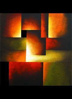 Pintura Abstracta de Osnat Tzadok                                                                                                                                                                                 Más