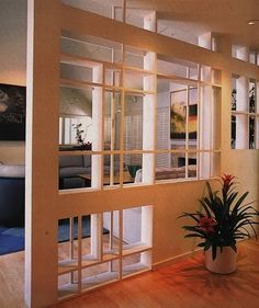 Modernist Entry by Leslie Harris Berlin, Divider, Room, Furniture, Design, Home Decor, Bedroom, Decoration Home, Room Decor