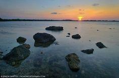 Sunset in alaminos, pangasinan, Philippines