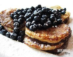 WERANNA'S: Finnish pancakes with blueberries