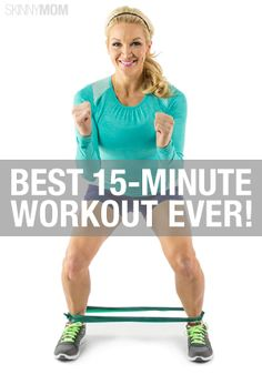 You won't regret using these 15 minutes on your workout.