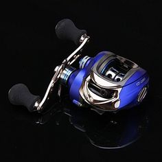 Fishing UK - Entsport Titanium Alloy Casting Reel Saltwater Low Profile Baitcast Reel 10+1 Ball Bearings Baitcasting Reel Super Smooth Baitcaster Reel Right/Left Handed Baitcaster Fishing Reel Baitcaster