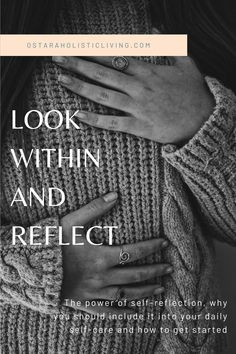 The power of self-reflection, what it is and how to get started. Look In The Mirror, Looking Back, Get Started, Did You Know, Reflection, Spirituality, Self, Journey, How To Get