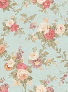 DecoratorsBest - Detail1 - YO WW4419 - ROSE FLORAL - WW4419 - Wallpaper - DecoratorsBest