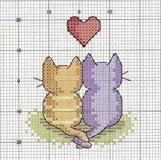 Brilliant Cross Stitch Embroidery Tips Ideas. Mesmerizing Cross Stitch Embroidery Tips Ideas. Cat Cross Stitches, Cross Stitching, Cross Stitch Embroidery, Embroidery Patterns, Crochet Stitches, Mini Cross Stitch, Cross Stitch Cards, Cross Stitch Animals, Cross Stitch Designs