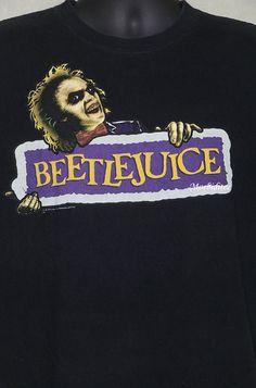 8be13822 Beetlejuice vintage rare T-shirt faded black semi horror | Etsy Movie Shirts,  Tee