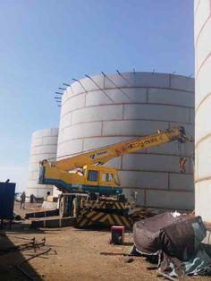 Tank Project in Bitung, North Sulawesi