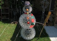 Instructions for how to make a Sparkleball Snowman!