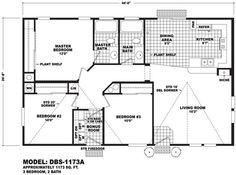 DBS-1173A line drawing